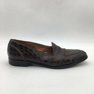 Cole Haan Mens Loafers Shoes Brown Moc Toe Size 9